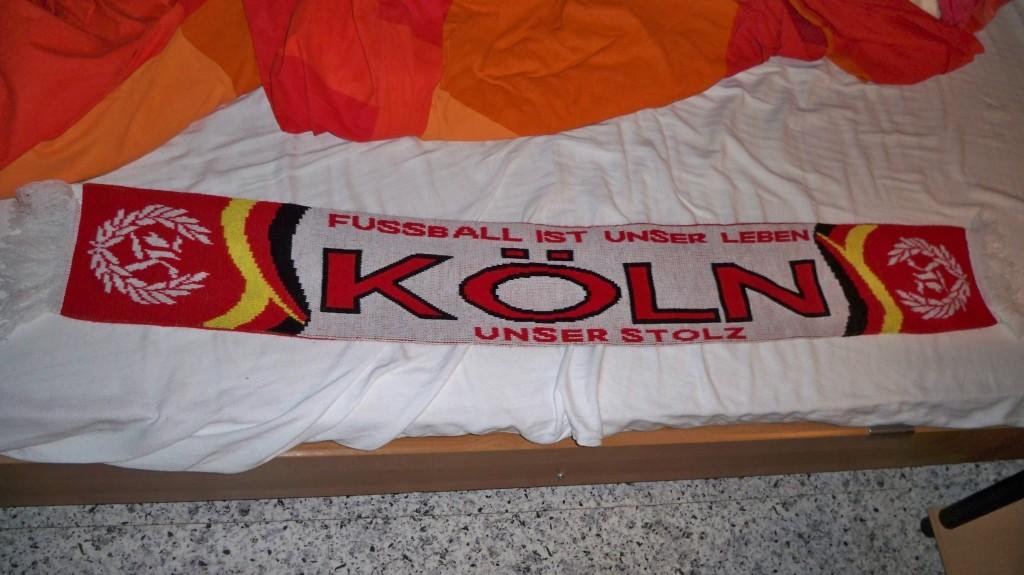 Fanschal des 1. FC Köln © Thilo Götze