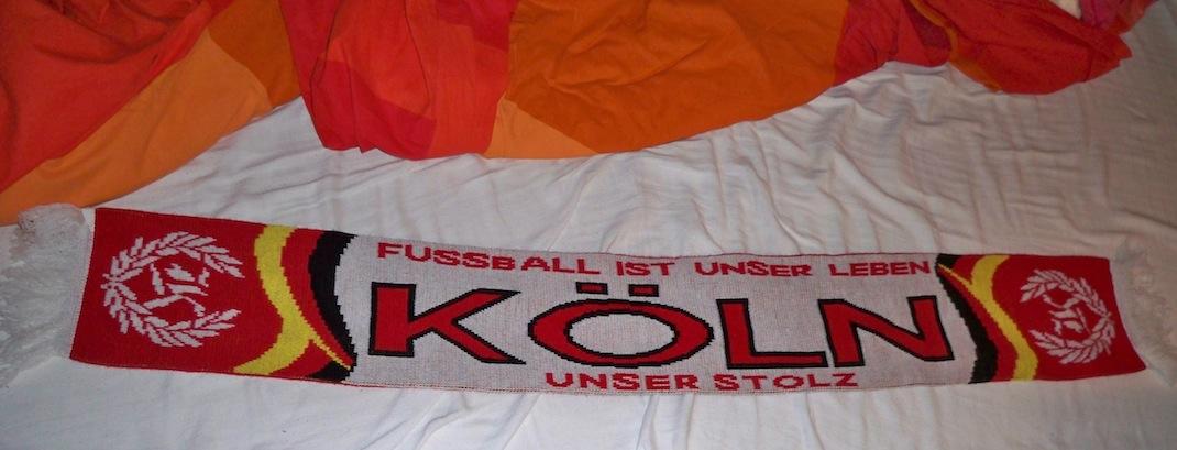 Fanschal des 1. FC Köln