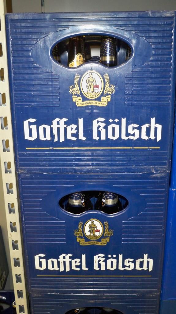 Kiste Gaffel Kölsch im Kaufland Köln-Mülheim © Thilo Götze