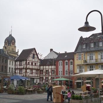 Marktplatz in Euskirchen © Thilo Götze