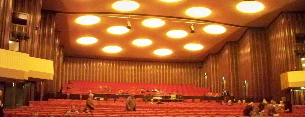 Saal der Stadthalle in Mühlheim