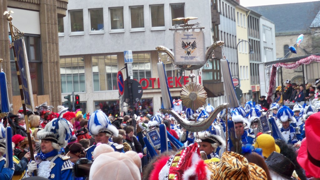Sag nie etwas gegen Karneval in Köln © Thilo Götze