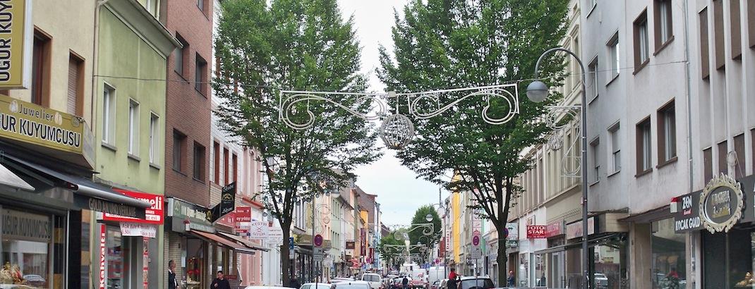 Die Keupstraße in Köln-Mülheim © Thilo Götze