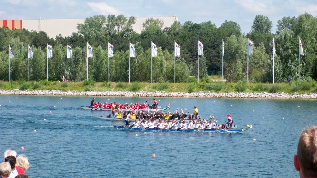 Qualifying beim Drachenbootrennen am Fühlinger See © Landesblog-NRW-braucht-das.de