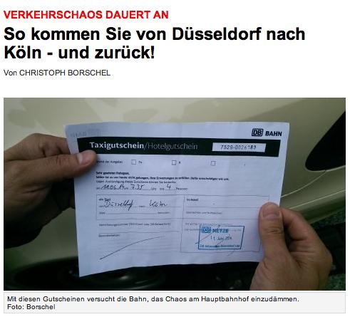Screenshot von http://www.express.de/duesseldorf/verkehrschaos-dauert-an-so-kommen-sie-von-duesseldorf-nach-koeln---und-zurueck-,2858,27402720.html