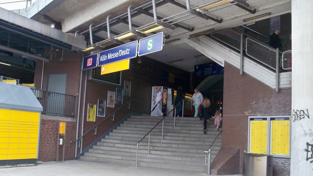 Bahnhof Köln-Deutz Drehort TV-Serie Die Wache © Landesblog NRW