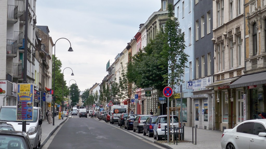 Berliner Straße Mülheim Drehort TV-Serie Die Wache © Landesblog NRW
