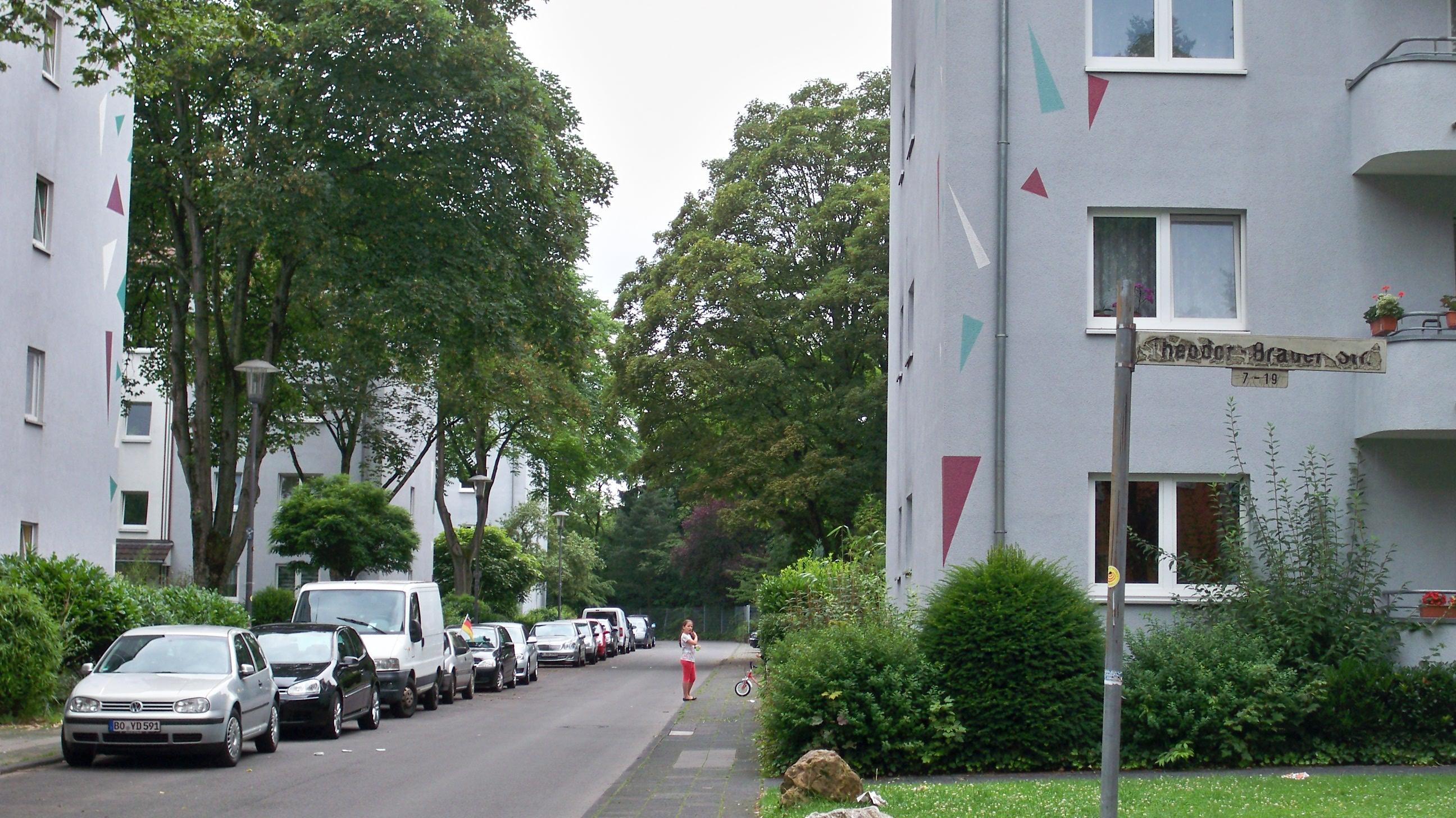 Die echte Brauerstraße in Köln wo die RTL-Serie Die Wache spielte © Landesblog NRW