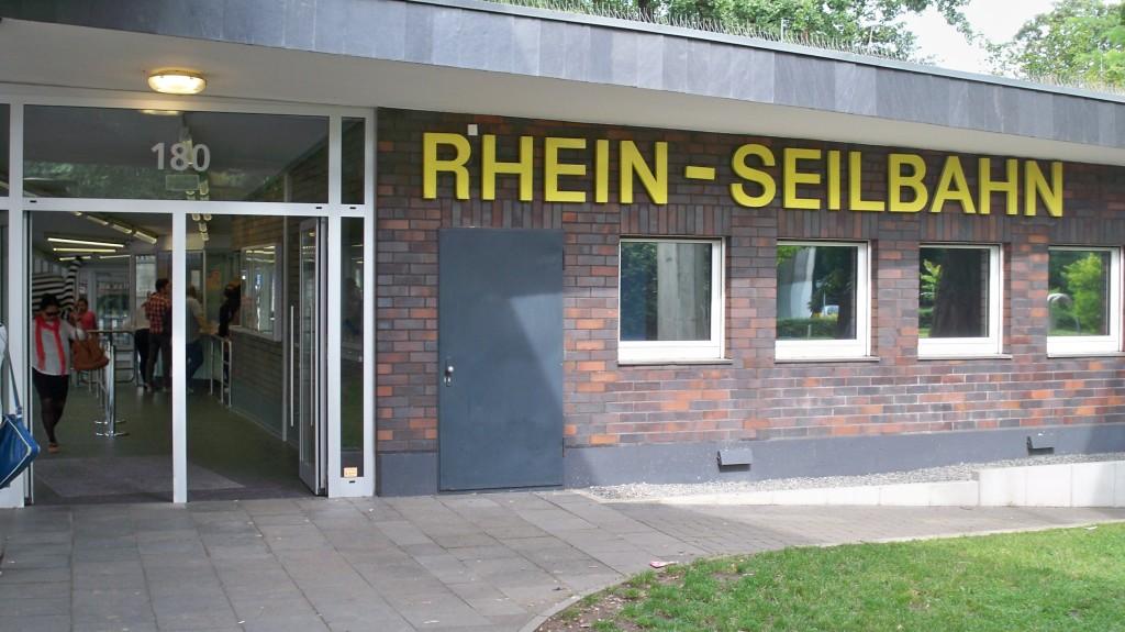 Rheinseilbahn in Köln © Landesblog NRW