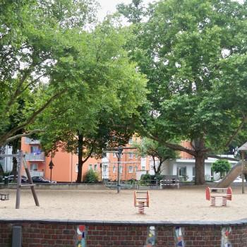 Spielplatz an der Brauerstraße in Köln © Landsblog NRW