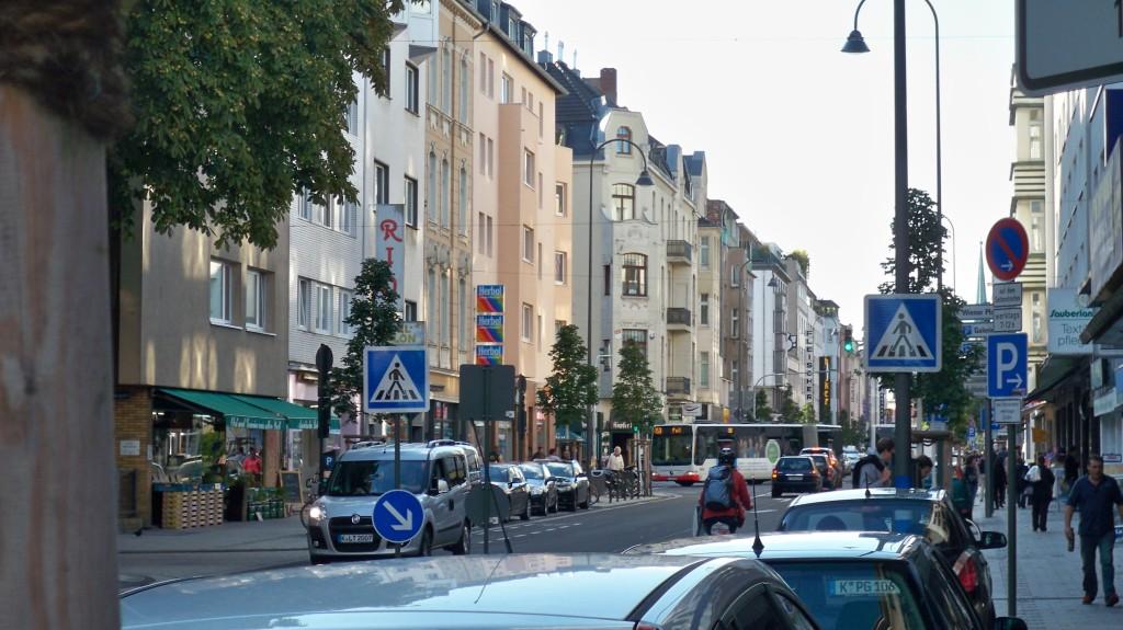 Frankfurter Straße in Köln Mülheim © landesblog-nrw-braucht-das.de