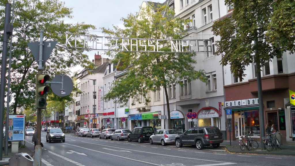 Klimastraße Nippes Begrüßungsschild © landesblog-nrw-braucht-das.de