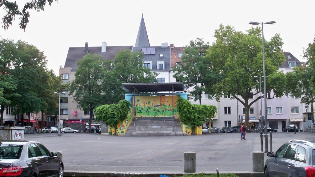 Wilhelmplatz in Nippes © landesblog-nrw-braucht-das.de