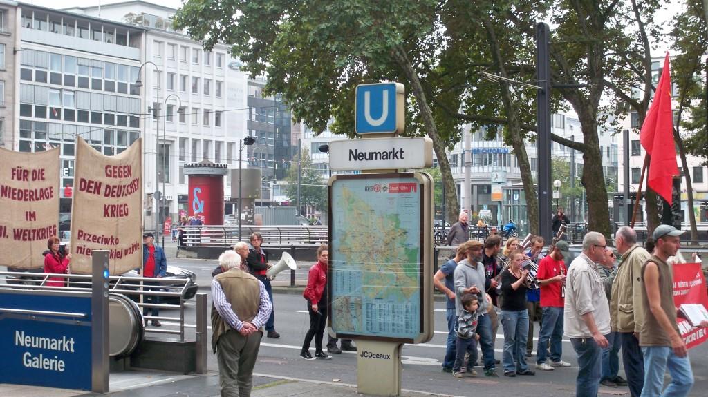 Die Himmlischen Vier am Neumarkt in Köln © Landesblog NRW