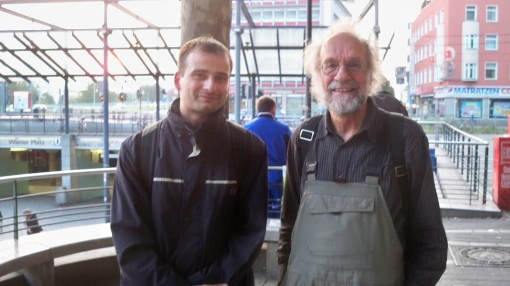 Klaus der Geiger und Thilo Götze © Landesblog NRW