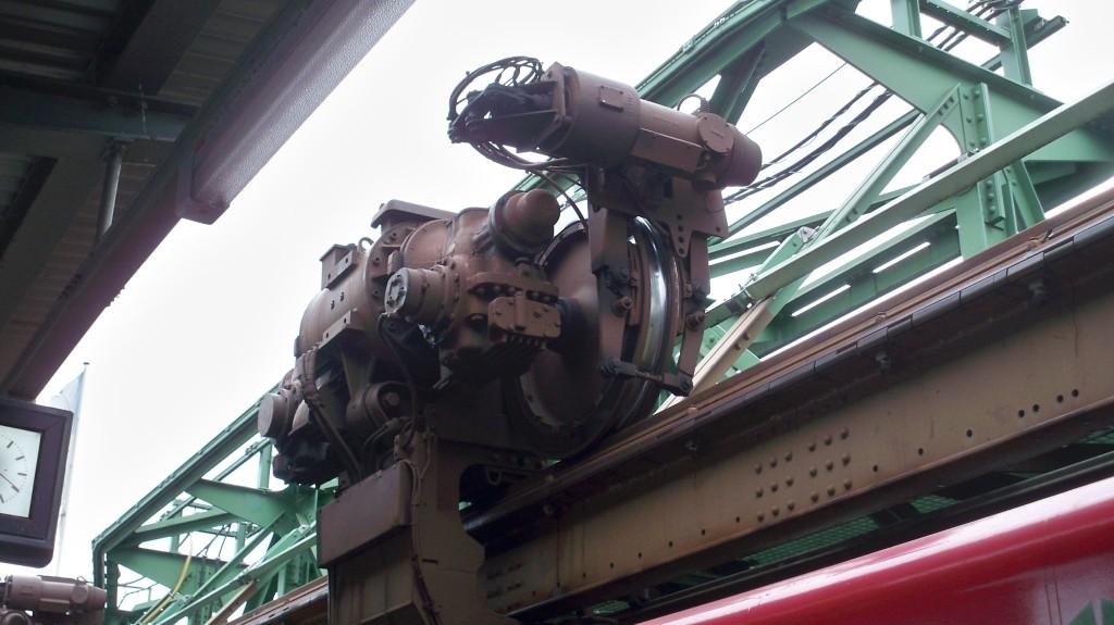 Antriebssatz Wuppertaler Schwebebahn © Landesblog NRW