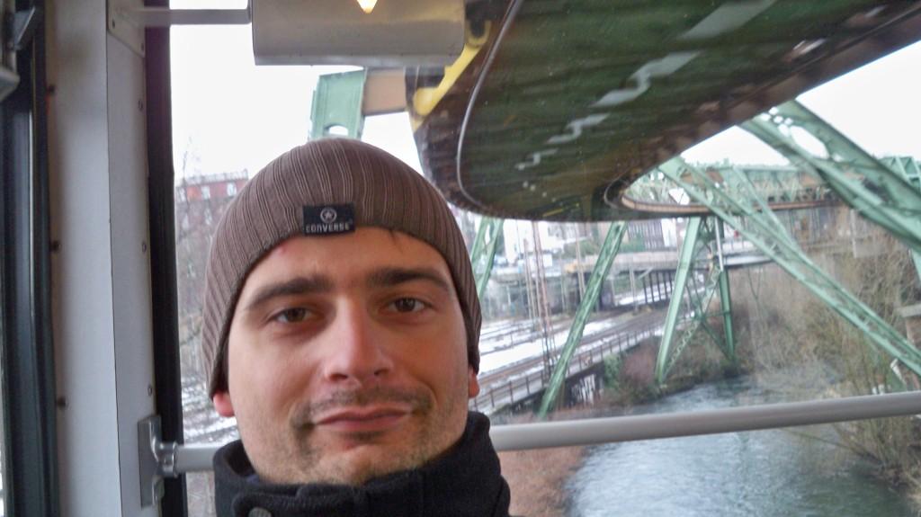 Fahrgast Wuppertaler Schwebebahn © Landesblog NRW