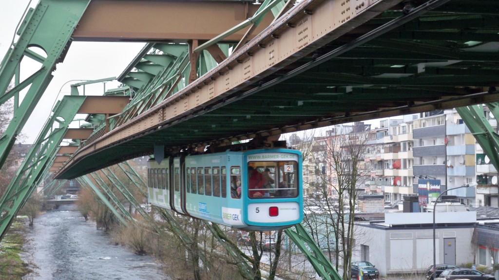 Fahrzeug der Wuppertaler Schwebebahn © Landesblog NRW
