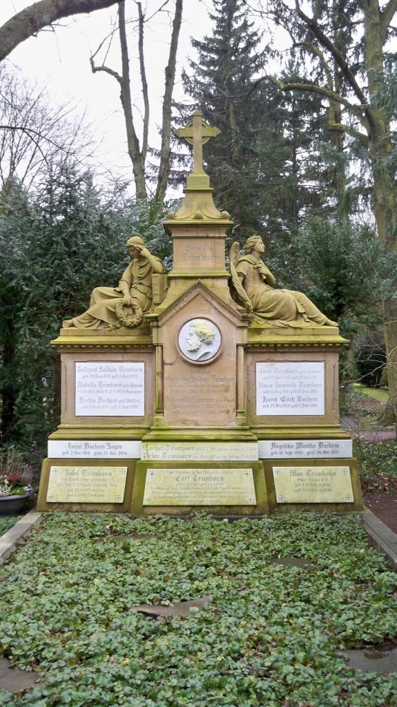 Familiengrab Trimborn auf Melaten Friedhof