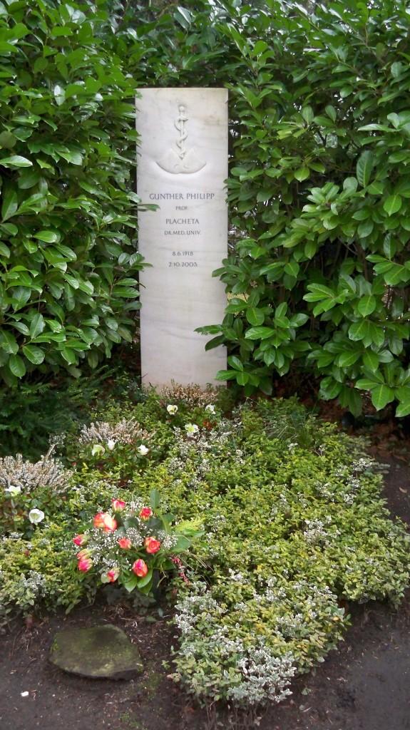Grab von Gunther Philipp auf Melaten Friedhof