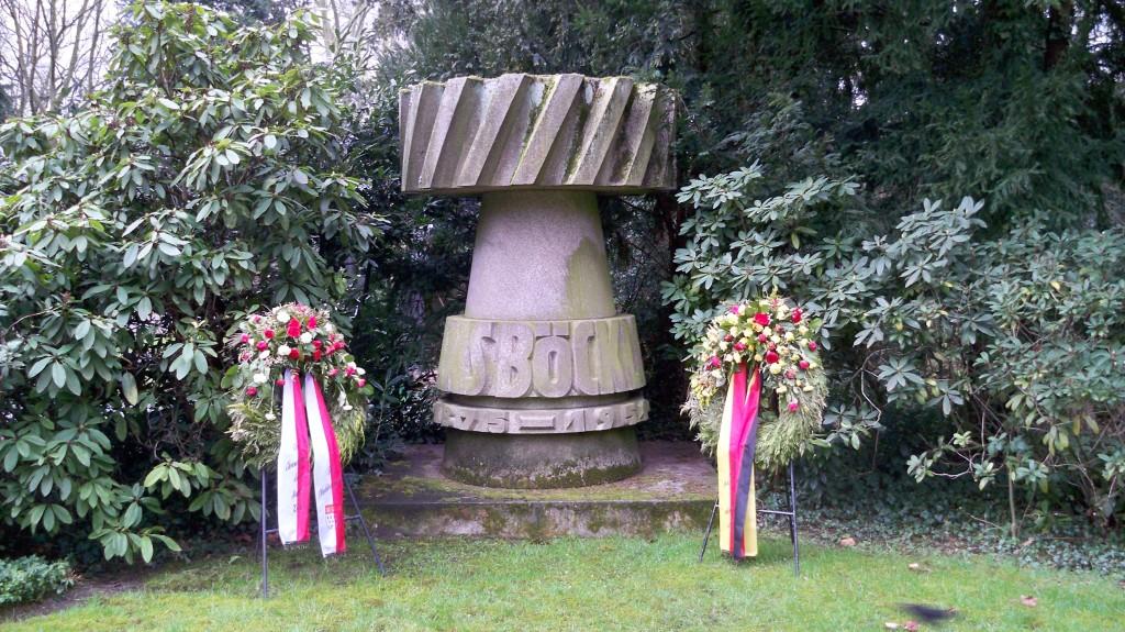 Grab von Hans Böckler auf Melaten Friedhof