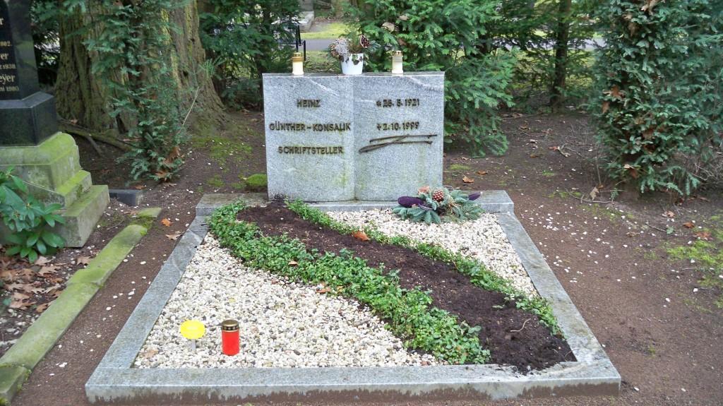 Grab von Heinz G. Konsalik auf Melaten Friedhof