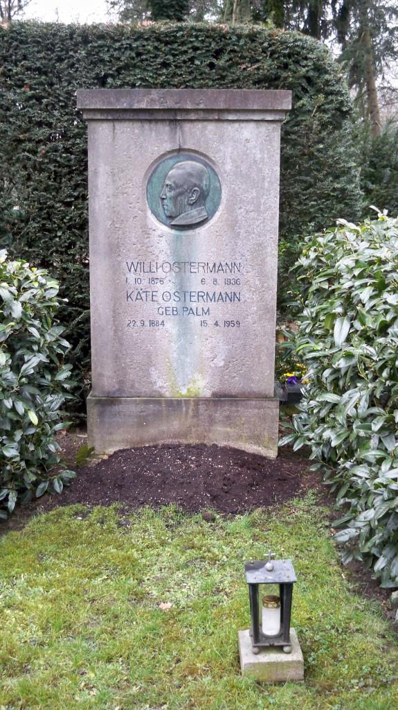 Grab von Willi Ostermann auf Melaten Friedhof