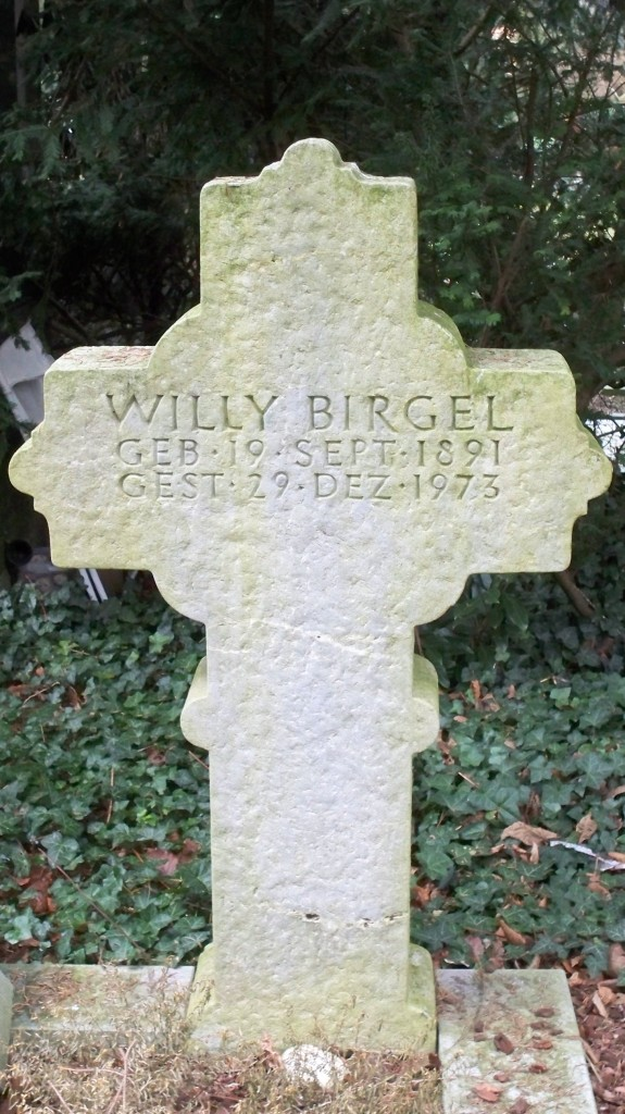 Grab von Willy Birgel auf Melaten Friedhof