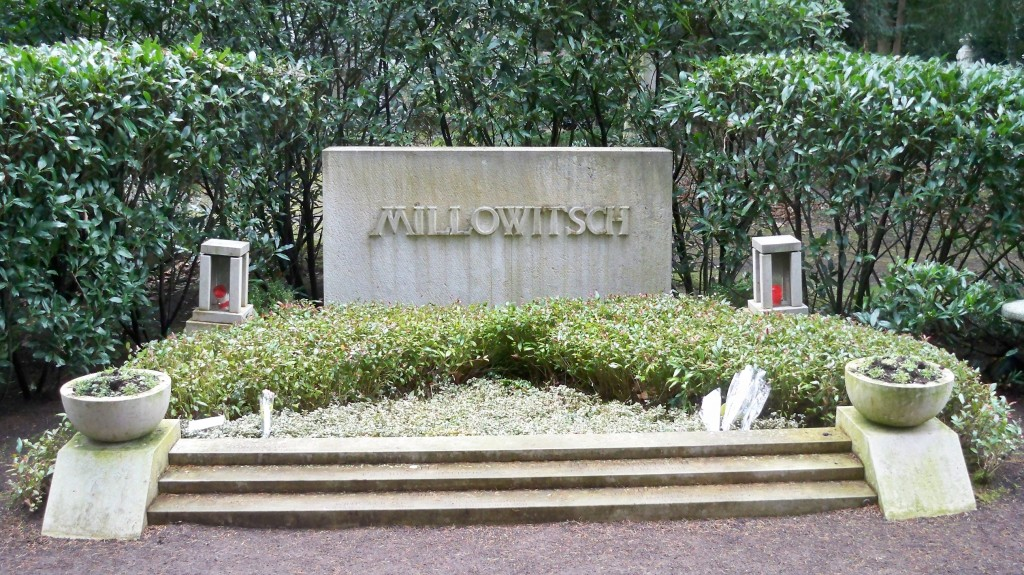 Grab von Willy Millowitsch und Familie auf Melaten Friedhof