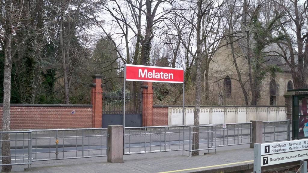 Haltestelle Melaten in Köln © 2015 Landesblog NRW