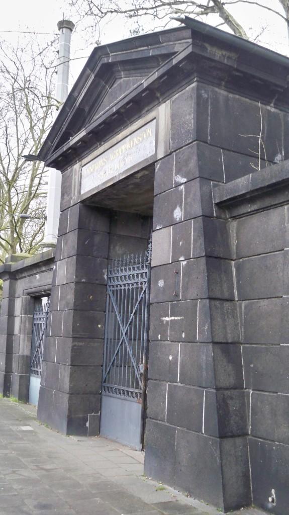 Haupteingang Melaten Friedhof © 2015 Landesblog NRW