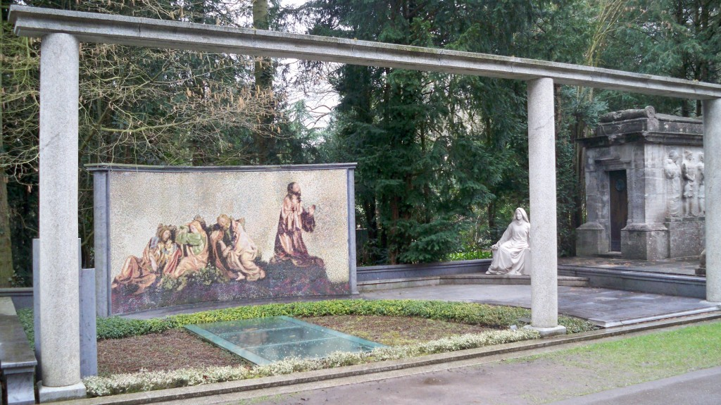 Religiöse Grabsteinbemalung © Landesblog NRW
