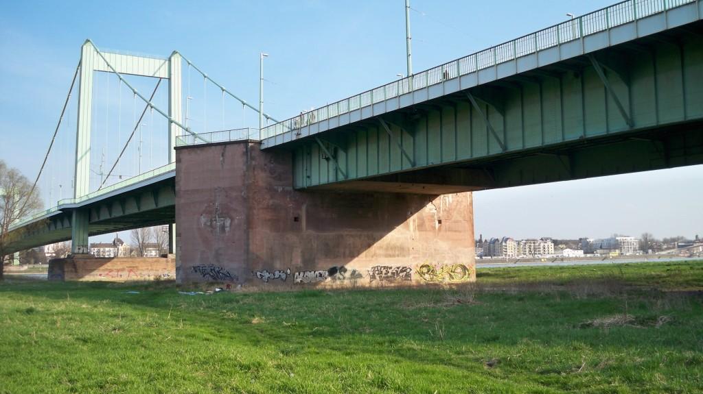 Mülheimer Brücke in Köln © Landesblog NRW