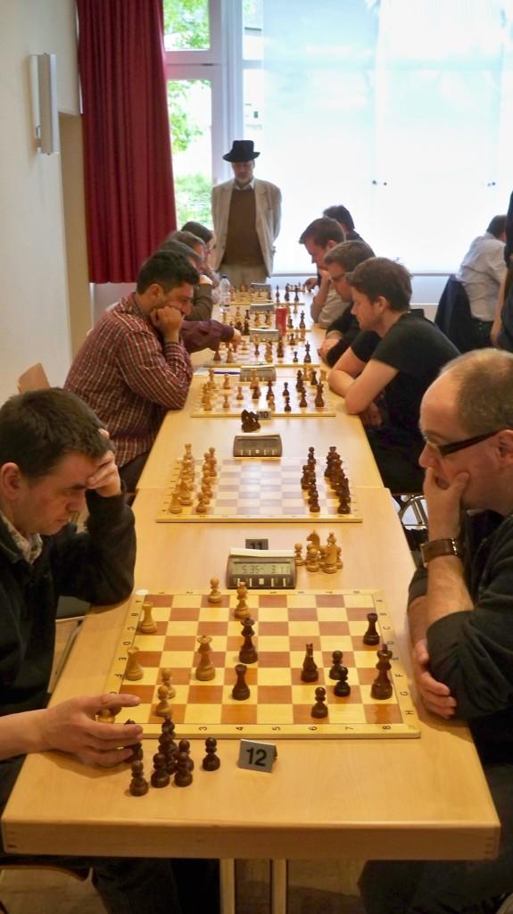 Bretter 7 bis 12 des Godesberger SK © Landesblog NRW