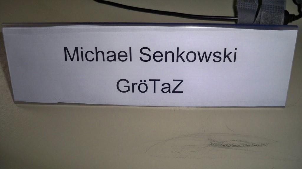 GröTaZ Turnierleiter Schild © Landesblog NRW