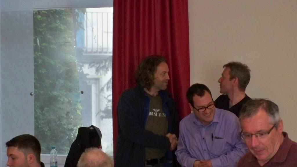 Sieger IM Thomas Koch mit Michael Senkowski und Robert Biedeköpper © Landesblog NRW