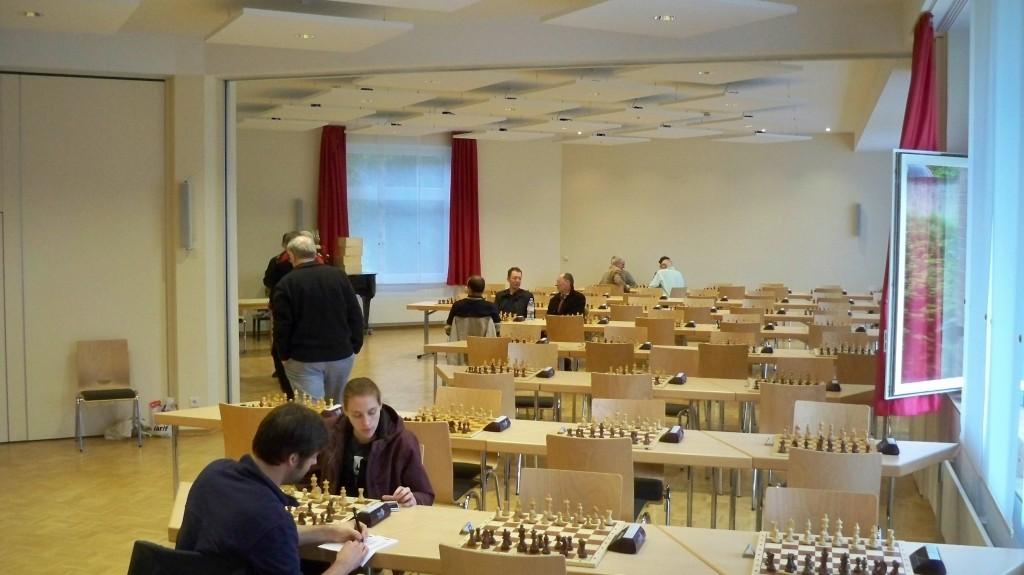 Spiellokal in Godesberg für die Schach Bundesliga © 2015 Landesblog NRW