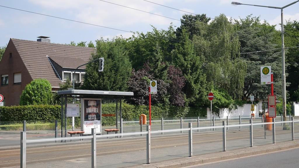 Haltestelle Am Steinacker in Krefeld-Oppum-Linn