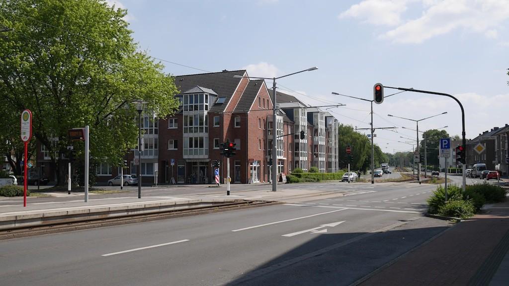 Haltestelle Danziger Platz in Krefeld