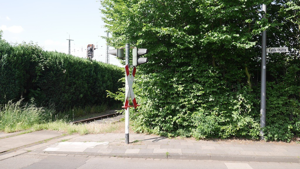 Totes Gleis an der Kuhleshütte in Krefeld © Landesblog NRW