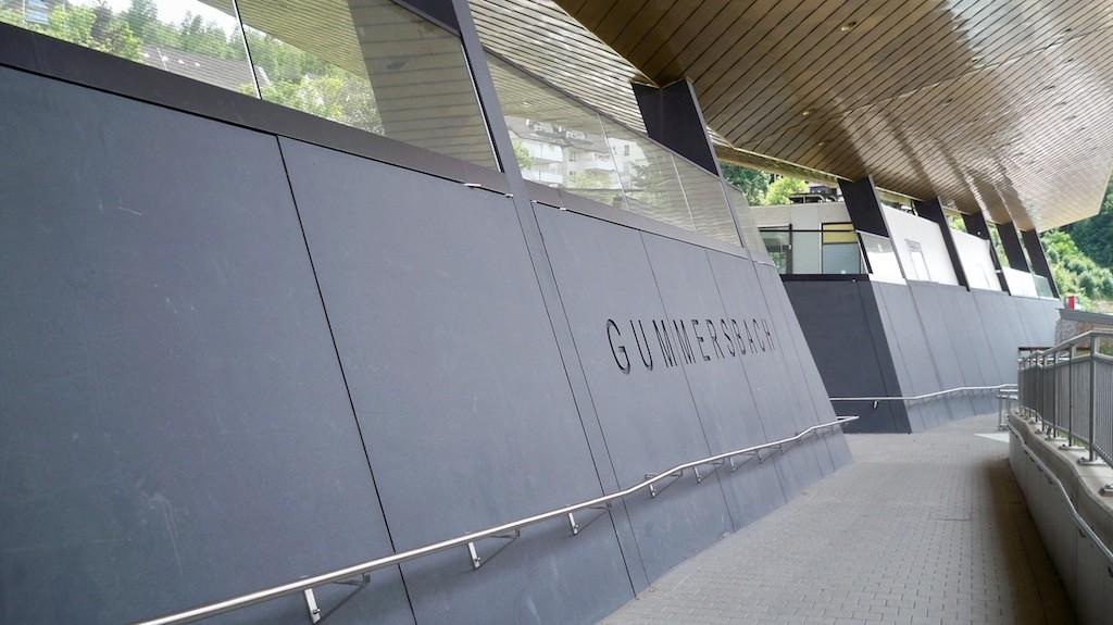 Inschrift Gummersbach im Bahnhof © Landesblog NRW