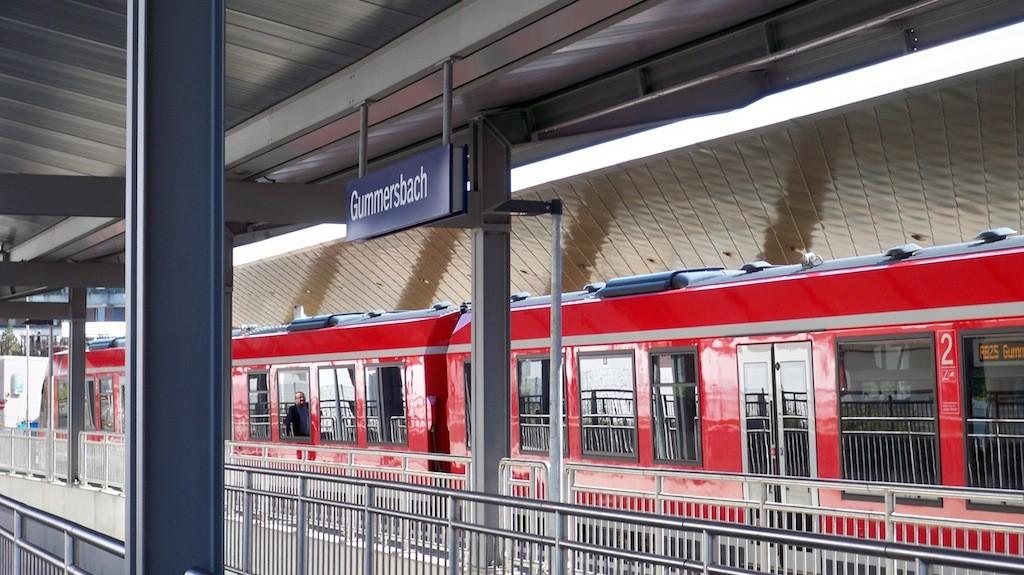 RB 25 nach Gummersbach Endstation © Landesblog NRW