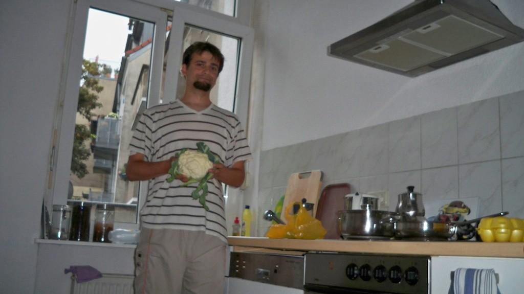 Cauliflower Joe in Good Ol' Nippes