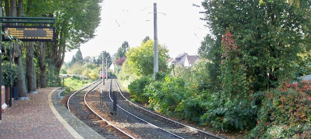 Linie 18 in Richtung Thielenbruch Köln