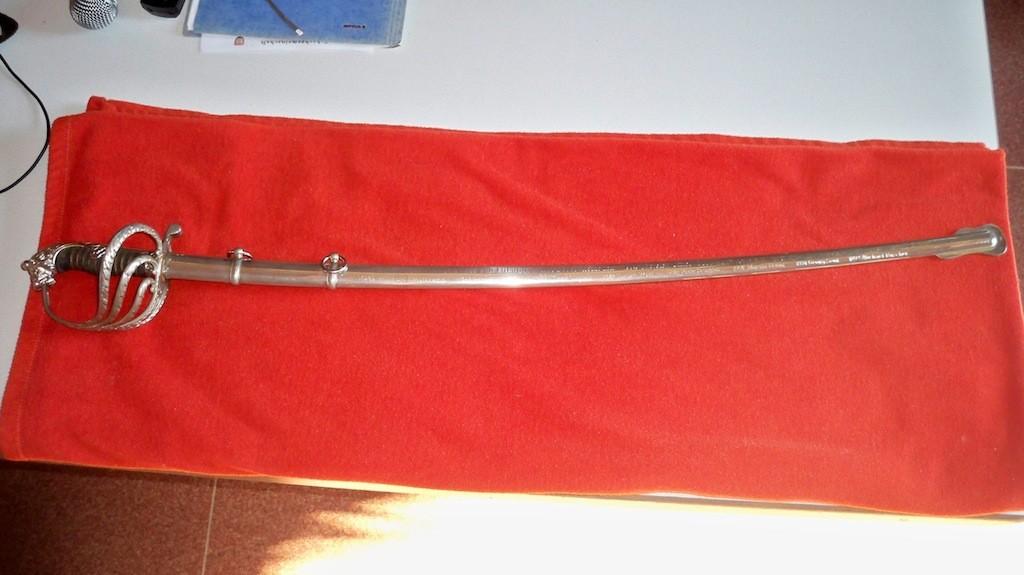 Siegertrophäe Schwert von Lülsdorf © Landesblog NRW