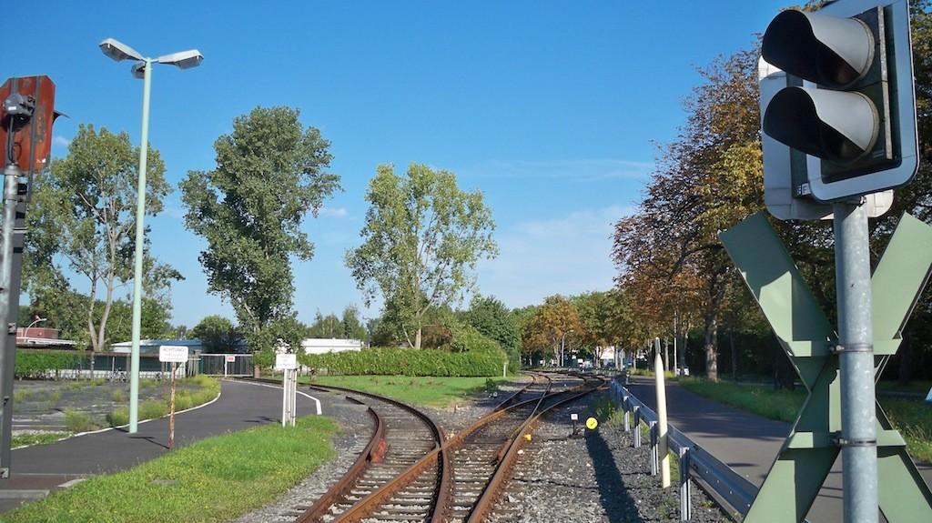 Werksbahn der Evonik Werke in Lülsdorf Niederkassel © Landesblog NRW