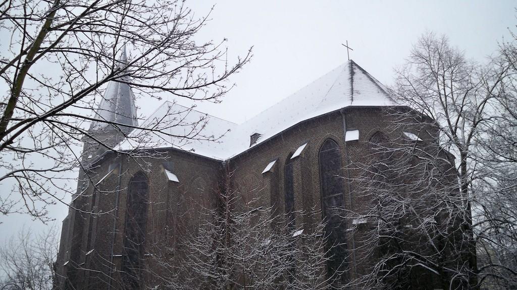 Wintersturm in Köln