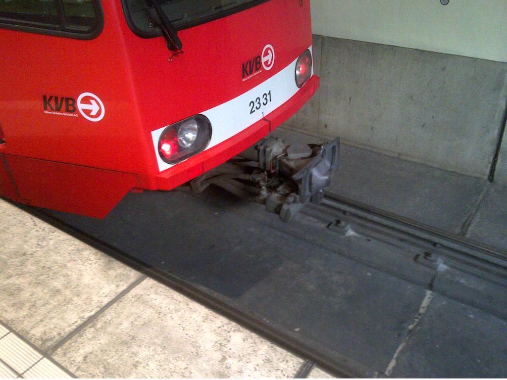 Unter ein Fahrzeug dieses Typs lief der Hund