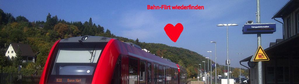 Flirt in der Bahn