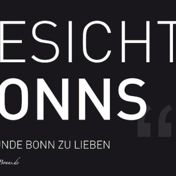 Gesichter Bonns Buchcover